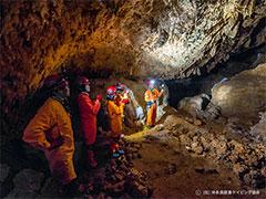 洞窟探検ケイビングツアー