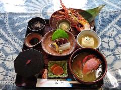 焼き海老定食